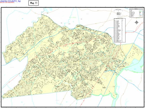 County Map 11