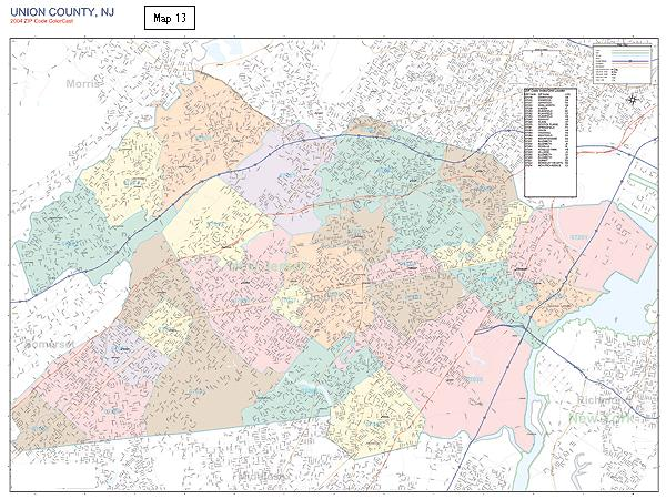 County Map 13