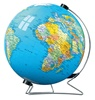540 Piece World Globe 3-D Puzzleball on Stand