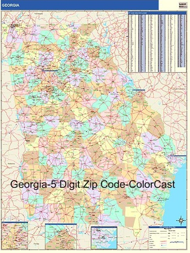 State Of Georgia Zip Codes Submited Images  Pic2Fly
