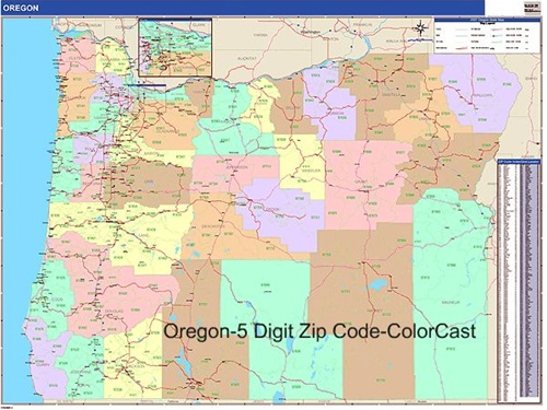 Pics Photos  Oregon Zip Codes