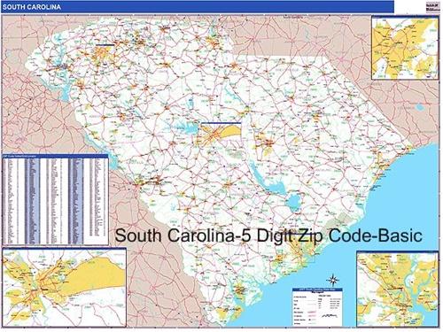 29 Fantastic Zip Code Map South Carolina