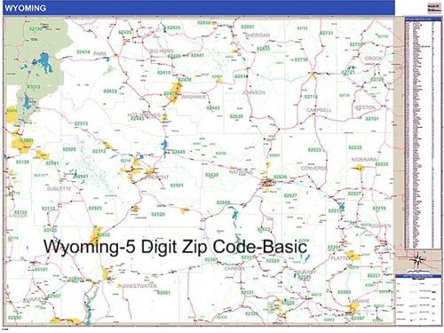 Laramie Wy Zip Code Map Images
